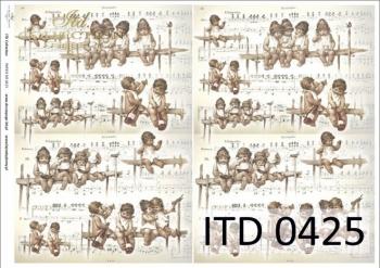 Decoupage paper ITD D0425M