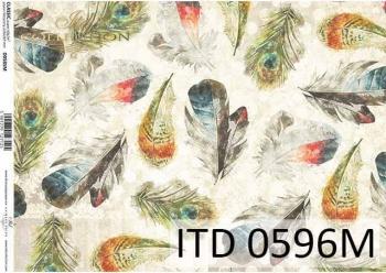 Decoupage paper ITD D0596M
