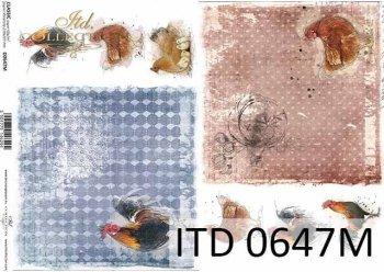 Decoupage paper ITD D0647M