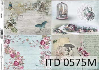 Decoupage paper ITD D0575M