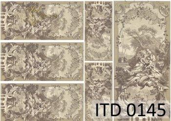 Decoupage paper ITD 0145M