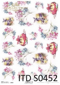 Decoupage paper Soft ITD S0452