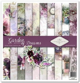 Scrapbooking papers SLS-009 ''Garden of Dreams''