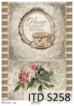 Decoupage paper Soft ITD S0258
