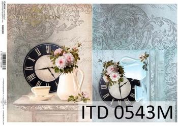 Decoupage paper ITD D0543M