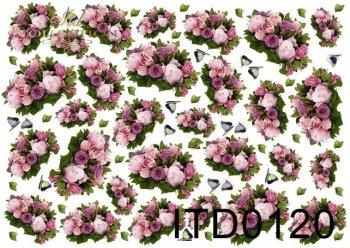 Decoupage paper ITD D0120M