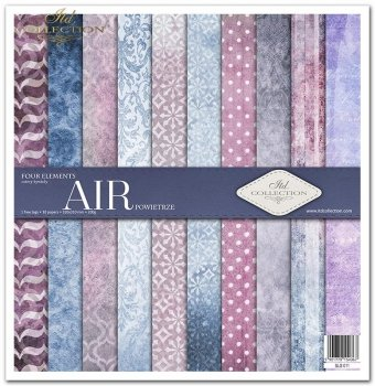 Scrapbooking papers SLS-011 ''Four elements-Air''