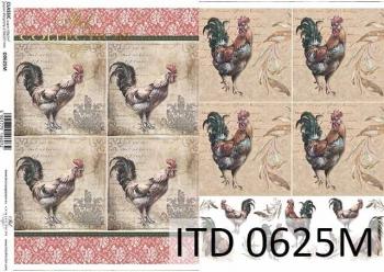 Decoupage paper ITD D0625M