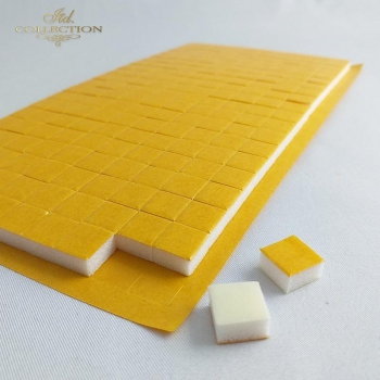 Self-adhesive tape double-sided foam squares 200 pcs.