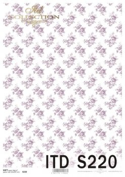 Decoupage paper Soft ITD S0220