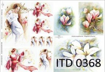 Decoupage paper ITD D0368