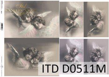 Decoupage paper ITD D0511M
