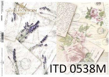 Decoupage paper ITD D0538M