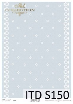 Decoupage paper Soft ITD S0150