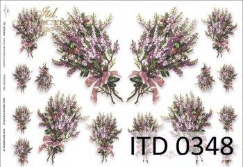 Decoupage paper ITD D0348M