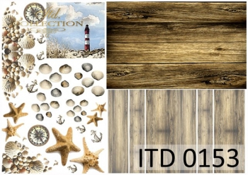 Decoupage Paper ITD D0153M