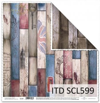 scrapbooking paper SCL599