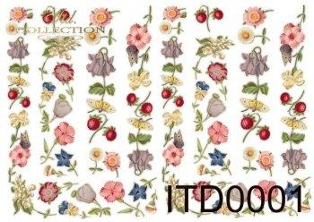 Decoupage paper ITD D0001M