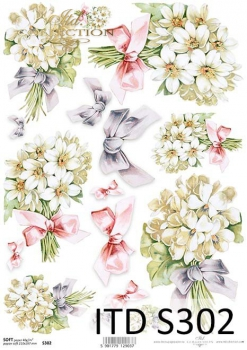 Decoupage paper Soft ITD S0302