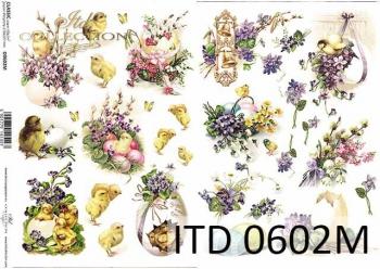 Decoupage paper ITD D0602M