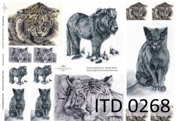 Decoupage paper ITD D0268M