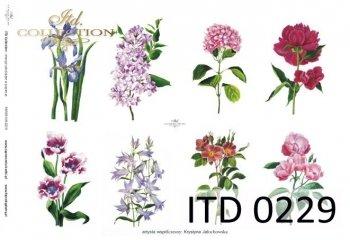 Decoupage paper ITD D0229M