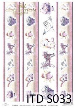 Papier decoupage SOFT ITD S0033