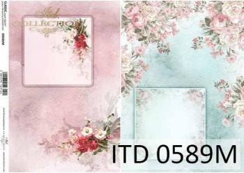 Papier decoupage ITD D0589M