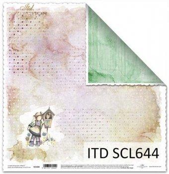 Papier scrapbooking SCL644