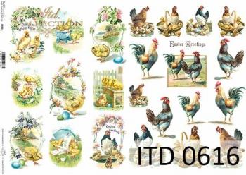 Papier decoupage ITD D0616