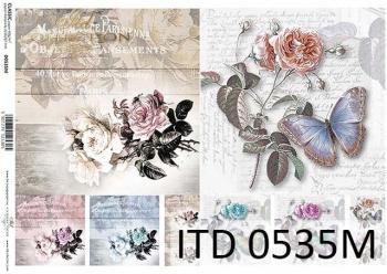 Papier decoupage ITD D0535M