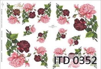 Papier decoupage ITD D0352