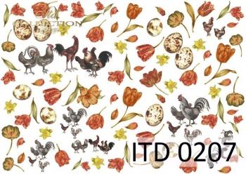 Papier decoupage ITD D0207M
