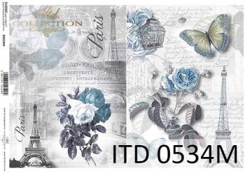 Papier decoupage ITD D0534M