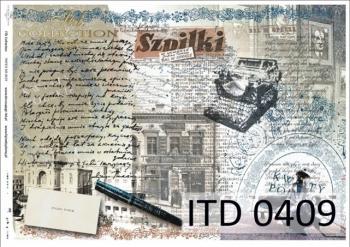 Papier decoupage ITD D0409M