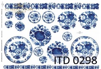 Papier decoupage ITD D0298M