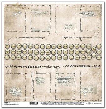 Papier scrapbooking SL1054