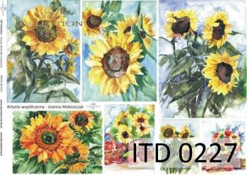 Papier decoupage ITD D0227M