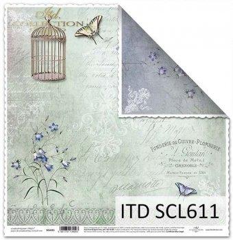 Papier scrapbooking SCL611