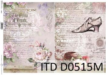 Papier decoupage ITD D0515M