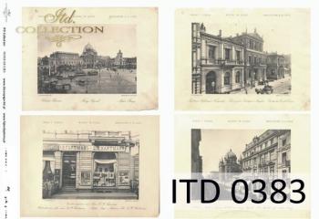Papier decoupage ITD D0383M