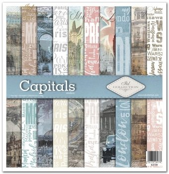 Zestaw do scrapbookingu SLS-030 Capitals