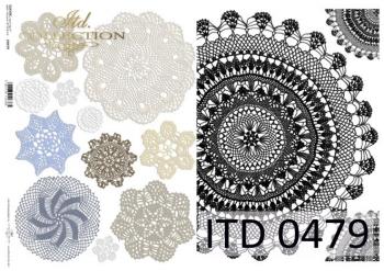 Papier decoupage ITD D0479