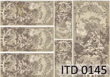 Papier decoupage ITD D0145