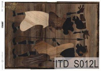 Papier decoupage SOFT ITD S0012L