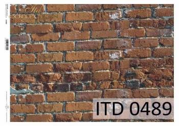 Papier decoupage ITD D0489