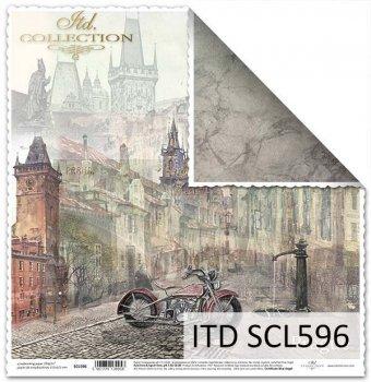 Papier scrapbooking SCL596