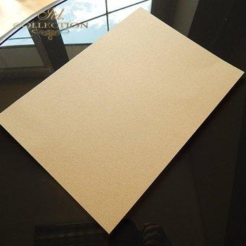 .Papier do scrapbookingu ekologiczny brązowy 350 gram A4 * PSS008