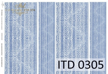 Papier decoupage ITD D0305M