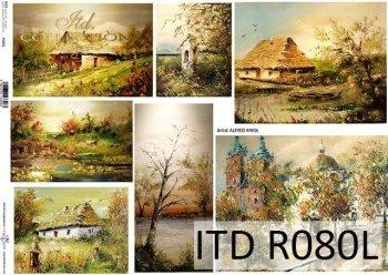 Papier ryżowy ITD R0080L